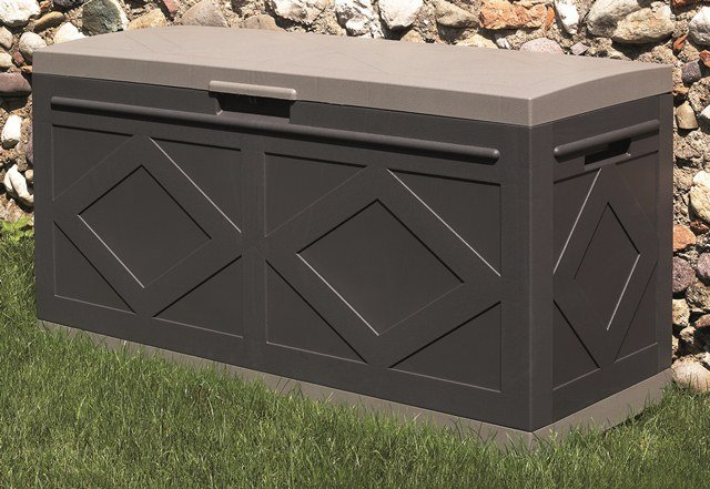 Maxi Resin Storage Box in Anthracite Grey W127cm