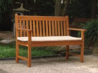 Laguna 1.25m (4ft 1ins) Hardwood Bench
