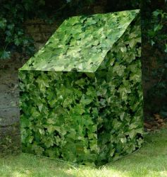 Camouflage Stacking Chair Garden Furniture Cover - Evergreen