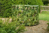 Camouflage 184cm Medium Round Patio Set Cover - Long Grass