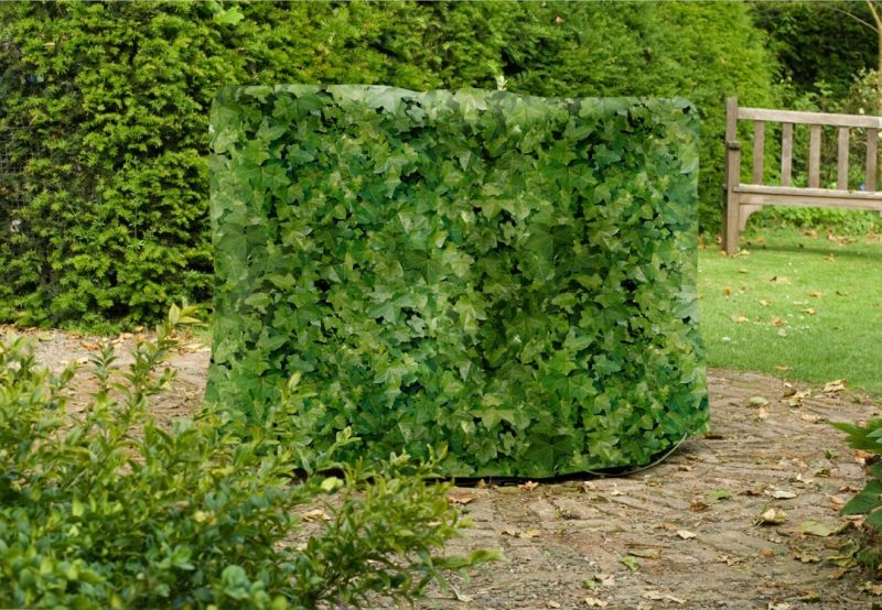 Camouflage Medium 184cm Round Patio Set Cover - Evergreen