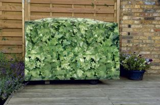 Camouflage Super Grill BBQ Cover - Evergreen