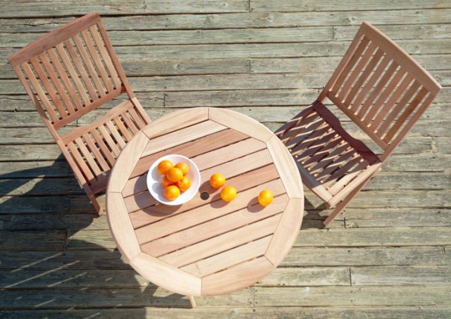 Alexander Rose Mahogany Sussex Tea for Two Garden Furniture Set