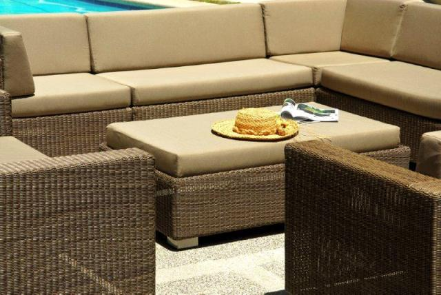 Alexander Rose Monte Carlo Rattan Garden Lounging Furniture Set