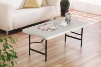 4ft Foldaway Rectangular Table
