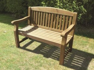Emily 1.23m (4ft) Wooden Bench