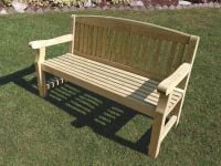 Emily 1.53m (5ft) Wooden Bench