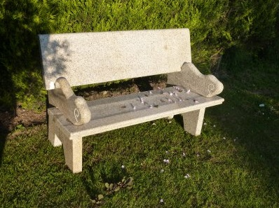 Hayworth Bench - Beige Granite