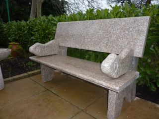 Hayworth Bench - Pink Granite