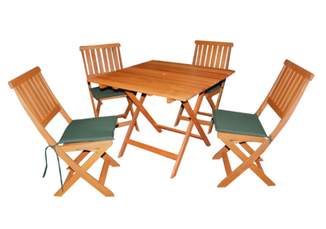 Victoria 4 Seater Wooden Garden Furniture Set