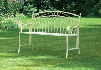 Versailles 1.18m (3ft 10½ins) Steel Folding Bench