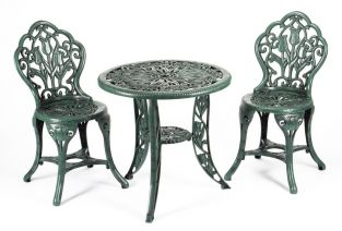 Tulip Tea for Two Set - Verdigris