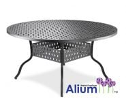 Alium™ Cast Aluminium Garden Table in Black