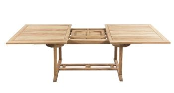 Grade A Teak Extendable Garden Dining Table