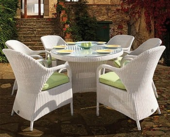 Bridgman 180cm Oval Table & 6 Sussex Dining Armchairs