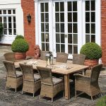 240cm Casa Dining Table with 2 Richmond Dining Armchairs & 6 Dining Chairs