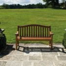Personalised Alexander Rose Turnberry 1.46m (5ft) Commemorative Memorial Bench with Brass Plaque
