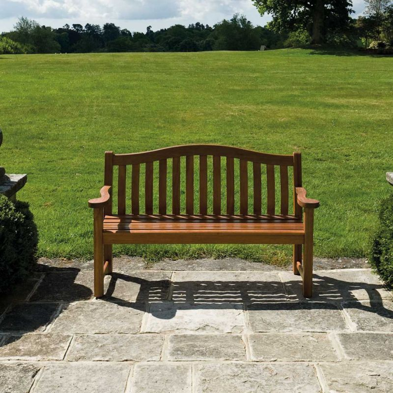 Personalised Alexander Rose Turnberry 1.46m (5ft) Commemorative Memorial Bench with Engraving