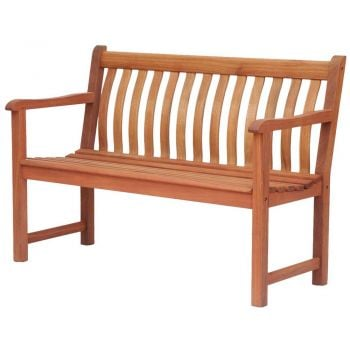 Personalised Alexander Rose Broadfield 1.22m (4ft) Commemorative Memorial Cornis Bench