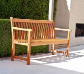 Alexander Rose Broadfield 1.46m (5ft) Cornis Bench