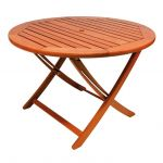 Alexander Rose Cornis Folding Table - 1.1m