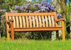 Personalised Alexander Rose St George 1.49m (5ft) Commemorative Memorial Cornis Bench