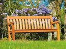 Personalised Alexander Rose St George 1.22m (4ft) Cornis Commemorative Memorial Bench