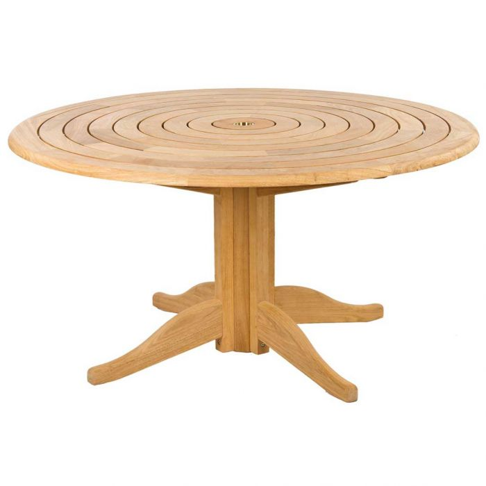 1.45m Dia. Roble Bengal Pedestal Dining Table by Alexander Rose