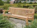 Personalised Alexander Rose Roble 8ft Park Commemorative Memorial Bench