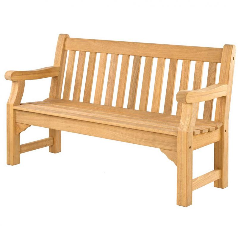 Personalised Alexander Rose Roble 5ft Commemorative Memorial Royal Park Bench