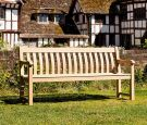 Personalised Alexander Rose Roble 6ft St George Commemorative Memorial Bench