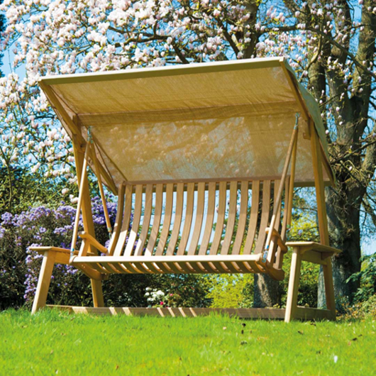 Garden Swing with Canopy