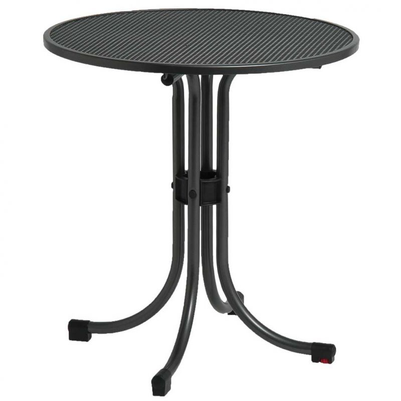 Portofino Round Bistro Set with Woven Chairs