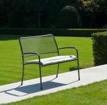 Alexander Rose Portofino 1.1m (3ft 7ins) Steel Bench