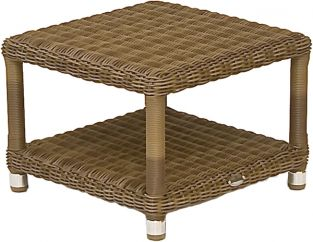 Alexander Rose Colonial Rattan Sunbed Table