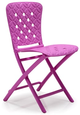 Zic Zac Classic Purple Chair