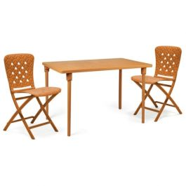Zic Zac Classic Orange Dining Set