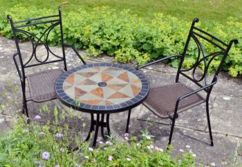 Tobarra Table with 2 Treviso Chairs
