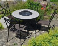 Tudela Low Fire Pit Table