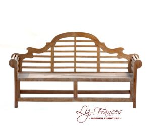 4 Seater Teak Chiltern Bench by Liz Frances™