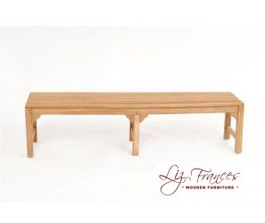 Classico 1.8m (5ft 11ins) Teak Bench by Liz Frances™