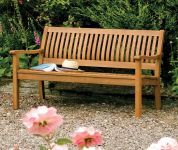 Willington Hardwood Bench W4ft x H2.8ft