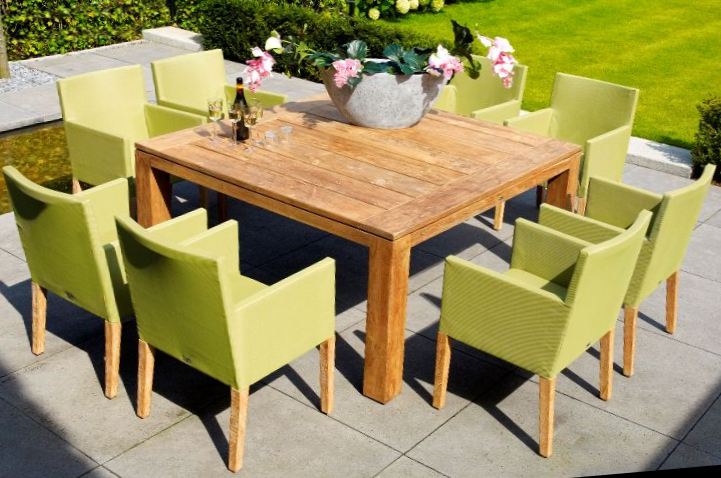Corona Square with Caribbean Dining Set