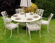 Ornamental 6 Seater Round Dining Set