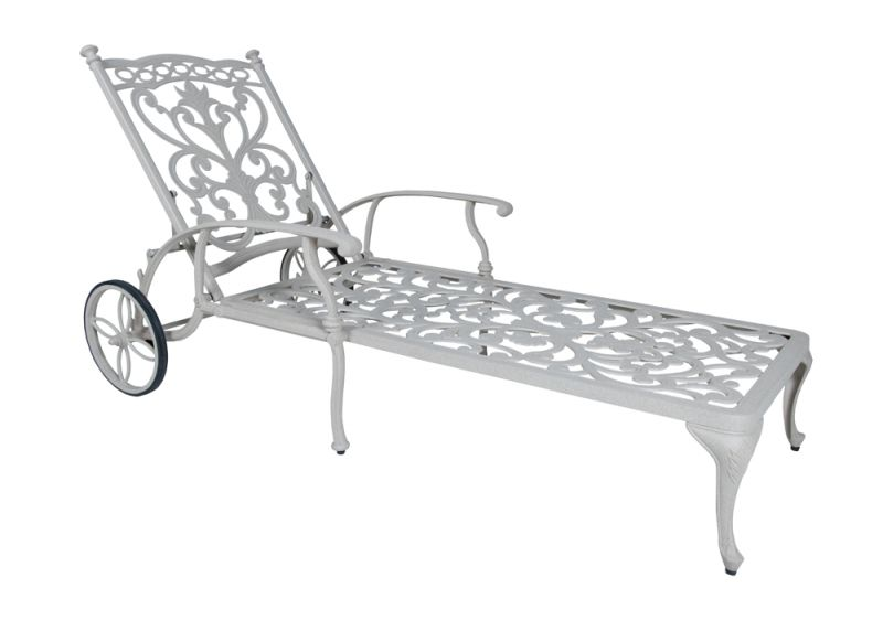 Ornamental Sandstone Chaise Lounge
