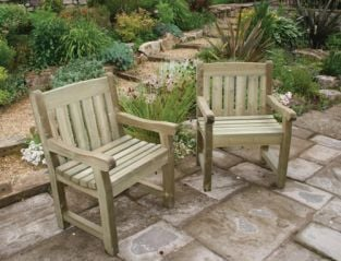 Cotswold Wooden Garden Chair