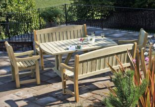 Cotswold Wooden Dining Set