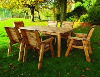 Redwood 6 Seater Rectangular Dining Set