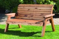 Traditional Two Seater Bench