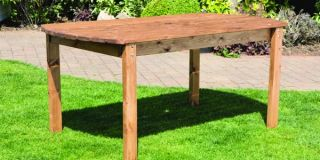 Six Seater Rectangular Table